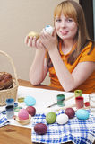 Easter eggs 3 stock photography