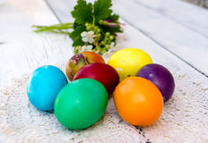 Easter eggs Royalty Free Stock Images