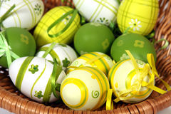 The Easter Eggs Stock Photos