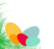 Easter eggs. Easter inspired background vector illustration