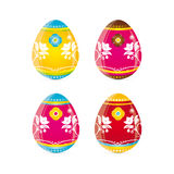 Easter Eggs. Vector illustration of easter eggs Stock Illustration