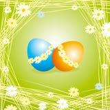 Easter eggs. Vector illustration of easter eggs stock illustration