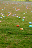 Easter Eggs. A field full of thousands of easter eggs Stock Image