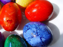 Easter eggs. Color easter eggs Stock Photo