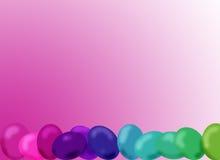 Easter eggs. Colorful easter eggs stock illustration