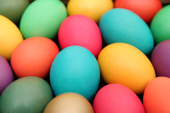 Easter eggs. Colorful easter eggs royalty free stock photography