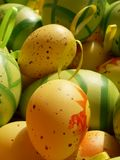 Easter eggs. Background Stock Photo