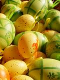 Easter eggs. Background Stock Photography