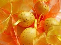 Easter eggs. Easter background eggs Stock Photo