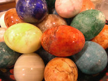 Easter Eggs. Marble easter eggs Royalty Free Stock Photography