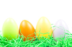 Easter eggs. In fresh green grass Royalty Free Stock Photo