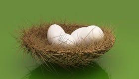 Easter eggs royalty free illustration