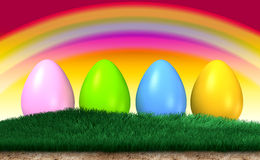Free Easter Eggs Stock Photography - 8617102