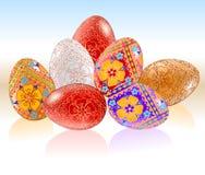 Easter Eggs Stock Photo