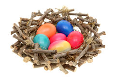 Easter eggs. stock photos