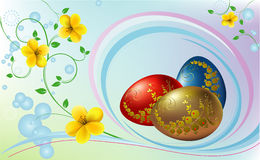 Easter Eggs. Royalty Free Stock Images