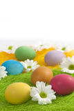 Easter eggs abstract Stock Photos