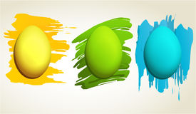 Easter eggs. Easter abstract background with eggs Royalty Free Stock Photography