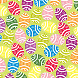 Easter eggs background stock images