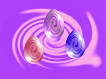 Easter eggs background. Easter eggs abstract background . Look for more easter images in my gallery royalty free illustration