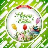 Easter eggs background. Illustration of Easter eggs background Stock Images
