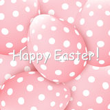 Easter eggs background Stock Photos