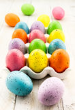 Easter Eggs and Baskets Royalty Free Stock Image