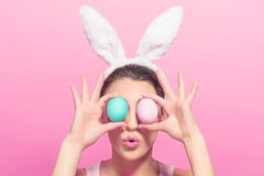 This Easter eggs is bigger stock images