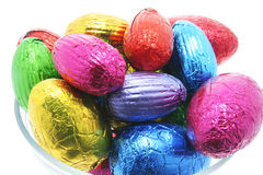 Easter Eggs in Bowl Stock Photo