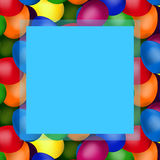 Easter eggs in the box Royalty Free Stock Photography