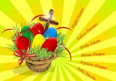 Easter eggs, cdr vector Stock Photography