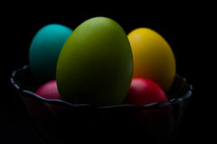 Easter Eggs celebration, color, decorative, design, group, holiday, objects, colorful Royalty Free Stock Image