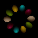Easter Eggs celebration, color, decorative, design, group, holiday, objects, colorful Stock Photography