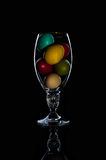 Easter Eggs celebration, color, decorative, design, group, holiday, objects, colorful Stock Photo