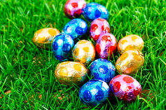 Easter eggs Chocolate Royalty Free Stock Photos