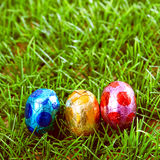 Easter eggs Chocolate Royalty Free Stock Images