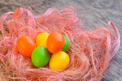 Easter eggs for Christian holiday Stock Image