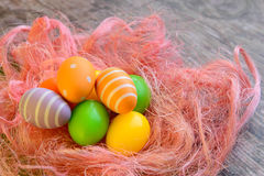 Easter eggs for Christian holiday Stock Photo