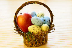 Easter eggs for Christian holiday Royalty Free Stock Photo