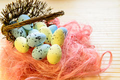 Easter eggs for Christian holiday Royalty Free Stock Photos