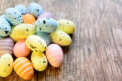 Easter eggs for Christian holiday Royalty Free Stock Photography