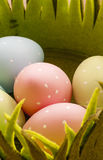 Easter eggs close up Royalty Free Stock Photo