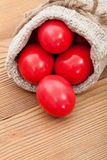 Easter eggs closeup Royalty Free Stock Photo