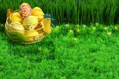 Easter eggs collection Royalty Free Stock Photo