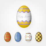 Easter eggs collection. Royalty Free Stock Photo