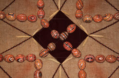 Easter eggs collection pattern 01 Royalty Free Stock Photography