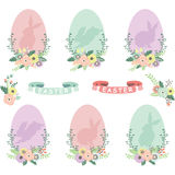 Easter Eggs Collections Royalty Free Stock Image