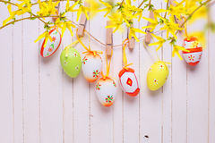 Easter eggs. Royalty Free Stock Photo
