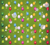 Easter Eggs Colorful Stock Photo