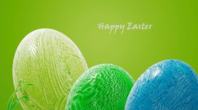 Easter eggs colorful vector illustration